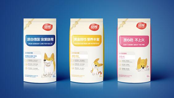 安肯狗粮产品包装设计