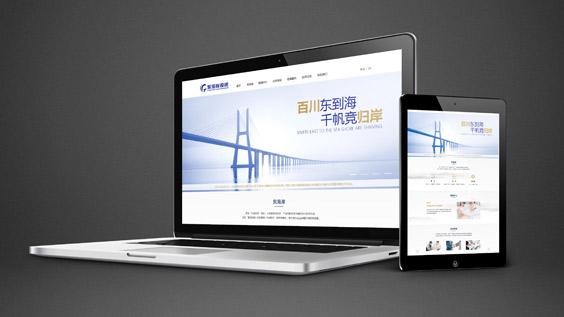 东海岸投资-企业官网设计开发